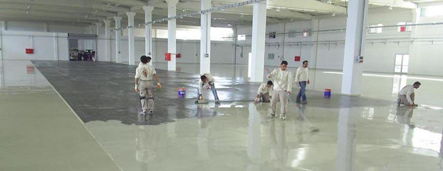 ... Sika Expert Team Is Trained By The World Class Infrastructure And  Equipment, Industrial Floor Coatings (epoxy And Polyurethane Coatings) In  The Solution ...